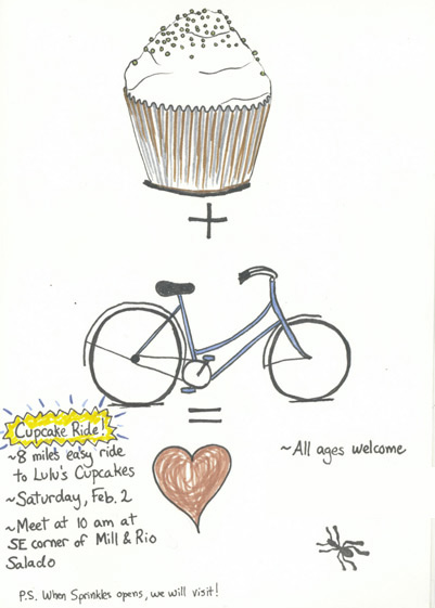 Feb2 Cup Cake ride