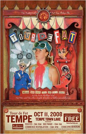 2008 Tempe TdF Poster