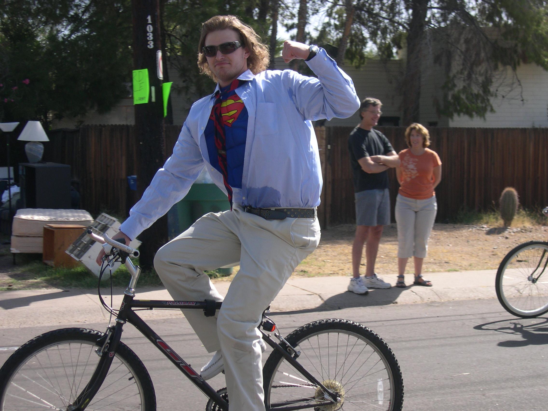 Bike parade photo